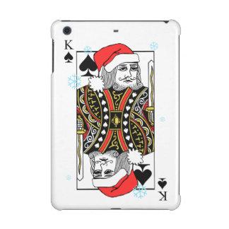 Merry Christmas King of Spades iPad Mini Covers