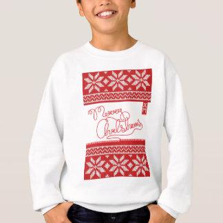 Merry Christmas Knitted Sweatshirt