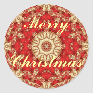 Merry Christmas Lace Envelope Seals