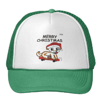 Merry Christmas Lil Max Cap Trucker Hat