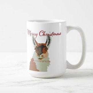 Merry Christmas Little Llama Mug