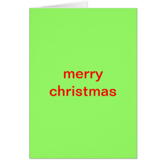 Merry Christmas, Loser Card