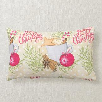 Merry Christmas Lumbar Pillow