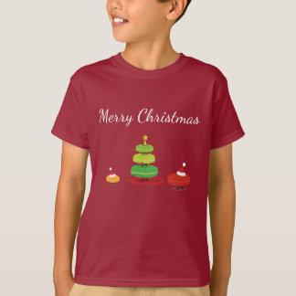 Merry Christmas Macarons | Kid's T-shirt