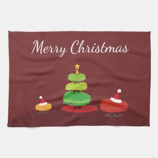 Merry Christmas Macarons | Kitchen Towel