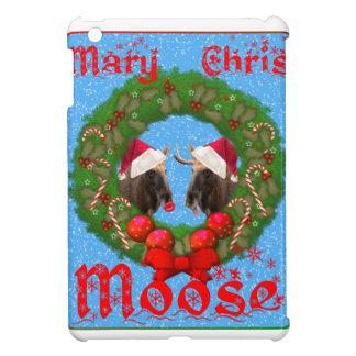 Merry Christmas Mary Chris Moose iPad Mini Cases