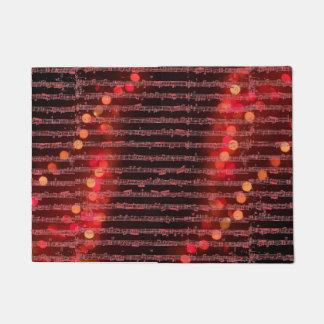 Merry Christmas Melody Doormat