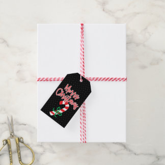 Merry Christmas | Merry Christmas Candy Cane Gift Tags