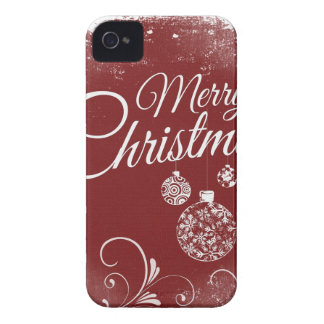 merry christmas message iPhone 4 case