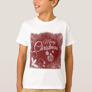 merry christmas message T-Shirt