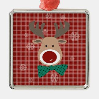 Merry Christmas! Metal Ornament