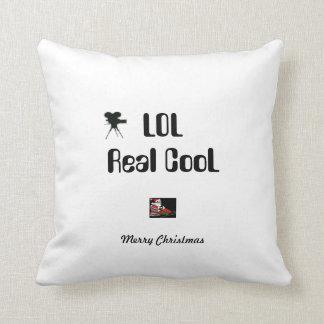 Merry Christmas MoJo Pillows LOL Real CooL