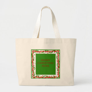 Merry Christmas Mom Tote Bags