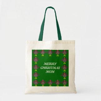Merry Christmas Mom Custom Turkey Gift Bag