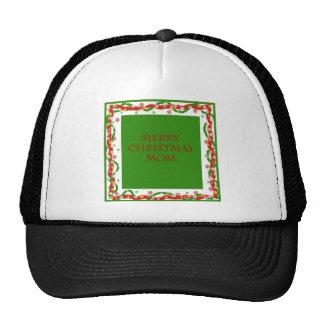 Merry Christmas Mom Trucker Hat