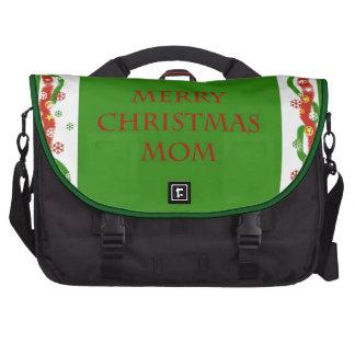 Merry Christmas Mom Computer Bag