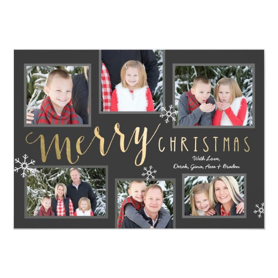 Merry Christmas Moments Card