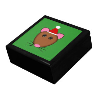 Merry Christmas Mouse Gift Box
