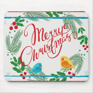 Merry Christmas mouse pad. Mouse Pad
