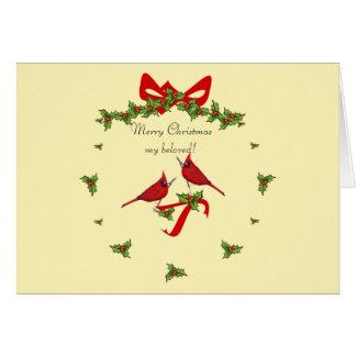 Merry Christmas my love! Card
