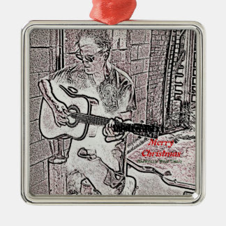 Merry Christmas Nashville Wild Child Ornament