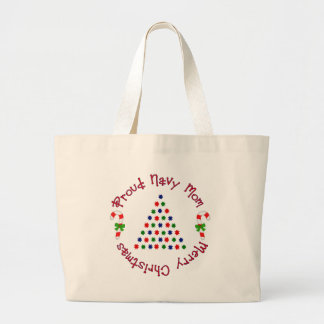 Merry Christmas (Navy Mom) Bags