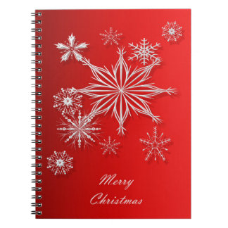 Merry Christmas. Notebooks
