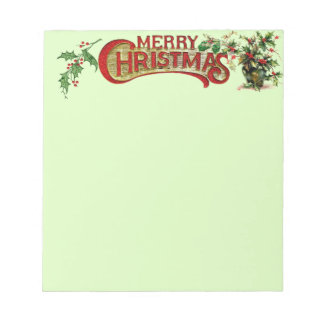 Merry Christmas Notepad