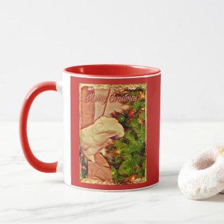 Merry Christmas Onni The Baby Cockatoo Mug