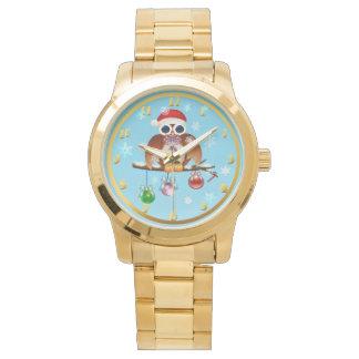 Merry Christmas Owl Watch