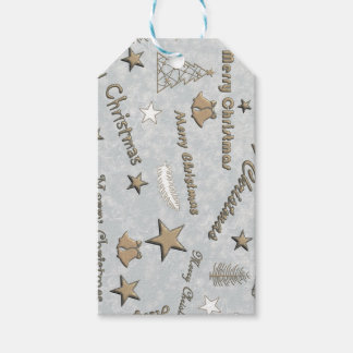 Merry Christmas Pack Of Gift Tags