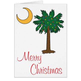Merry Christmas Palmetto Moon Card