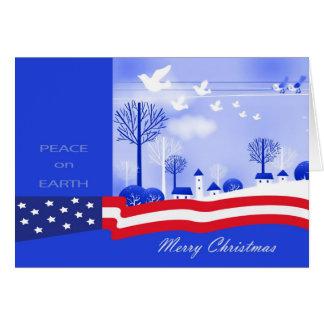 Merry Christmas . Peace on Earth Design Cards