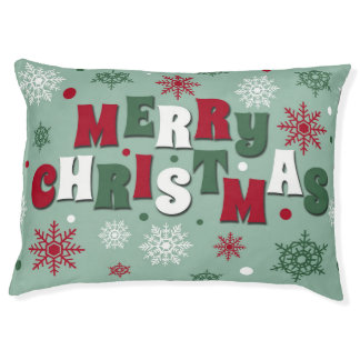 Merry Christmas Pet Bed