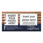 Merry Christmas Photo Cards - Patriotic Military