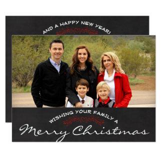 Merry Christmas Photo Christmas Card