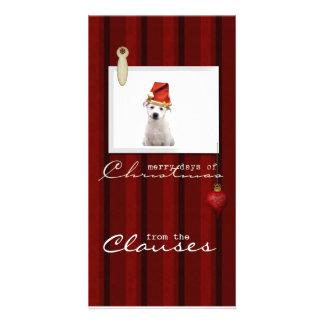 Merry Christmas Photo Greeting Card