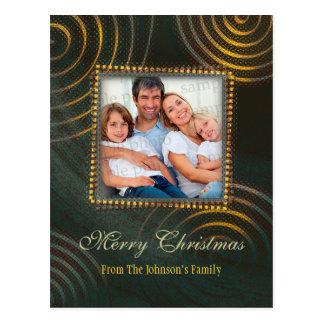 Merry Christmas | Photo Template Postcard