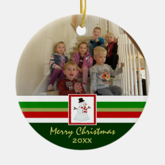 Merry Christmas: Picture Ornament
