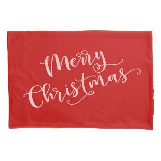 Merry Christmas Pillowcase