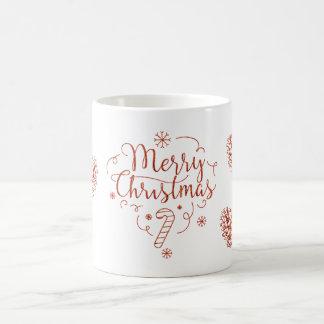 Merry Christmas Pinecone Mug