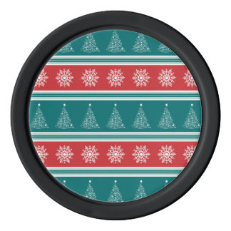 Merry Christmas Poker Chips