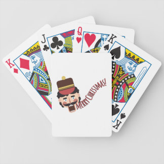Merry Christmas Poker Deck