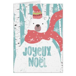 Merry Christmas Polar bear Card