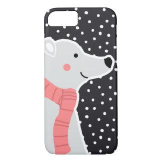Merry Christmas - Polar Bear iPhone 8/7 Case