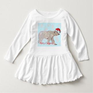Merry Christmas Polar Bears Dress