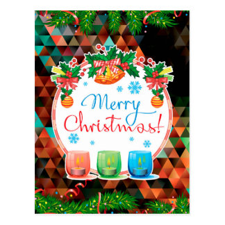 """Merry Christmas!"" Postcard"
