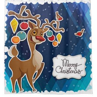 Merry Christmas Prancing Reindeer
