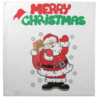 Merry Christmas Printed Napkin