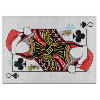 Merry Christmas Queen of Clubs - Add Your Images Boards